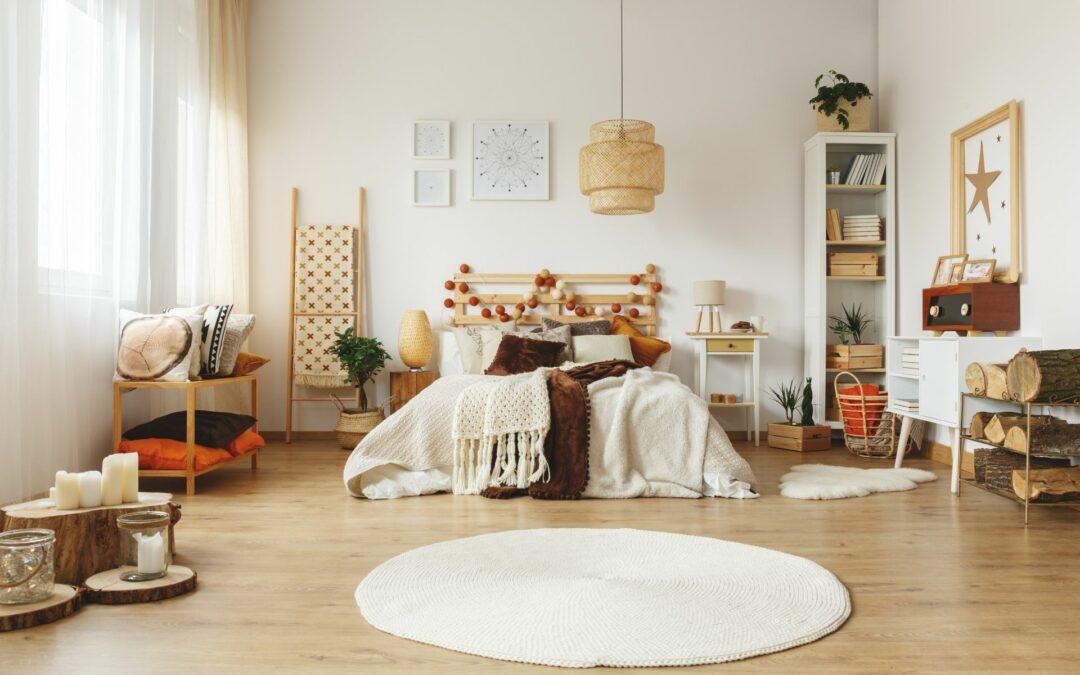Dywaniki do sypialni – sprawdź 9 pomysłów na dywanik przy łóżku w sypialni