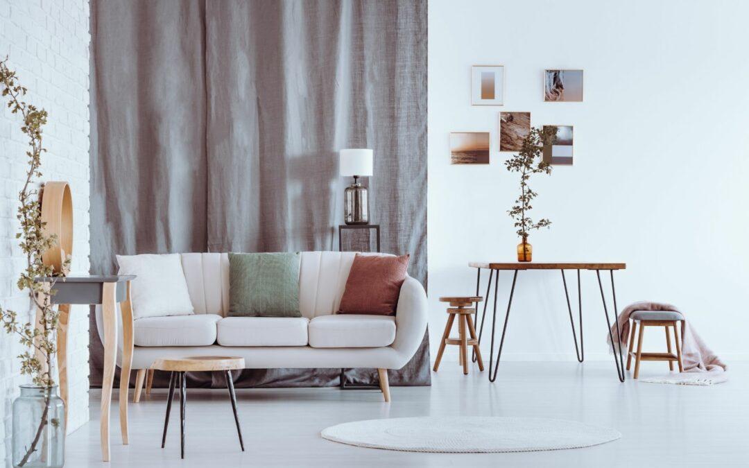 Jak dobrać zasłony do kolorów ścian?